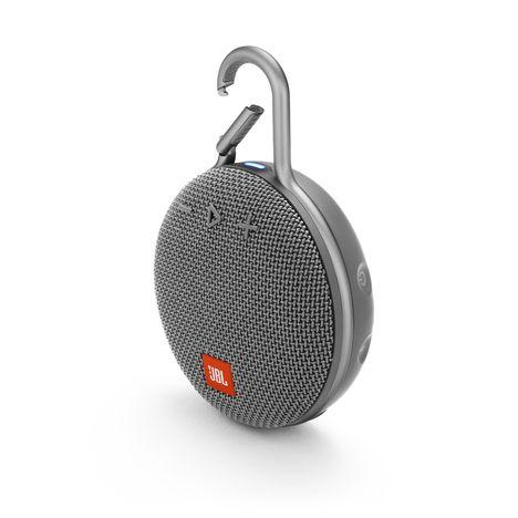 JBL Enceinte portable Bluetooth étanche - Gris - Clip 3
