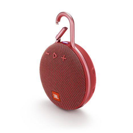 JBL Enceinte portable Bluetooth étanche - Rouge - Clip 3