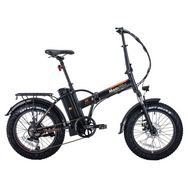 MOOVWAY Vélo électrique pliable FatBike - Noir