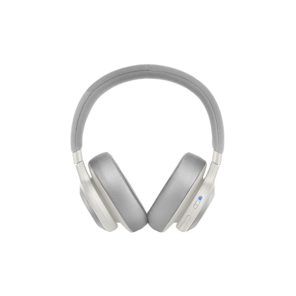 E65BTNC - Blanc - Casque audio circum-aural