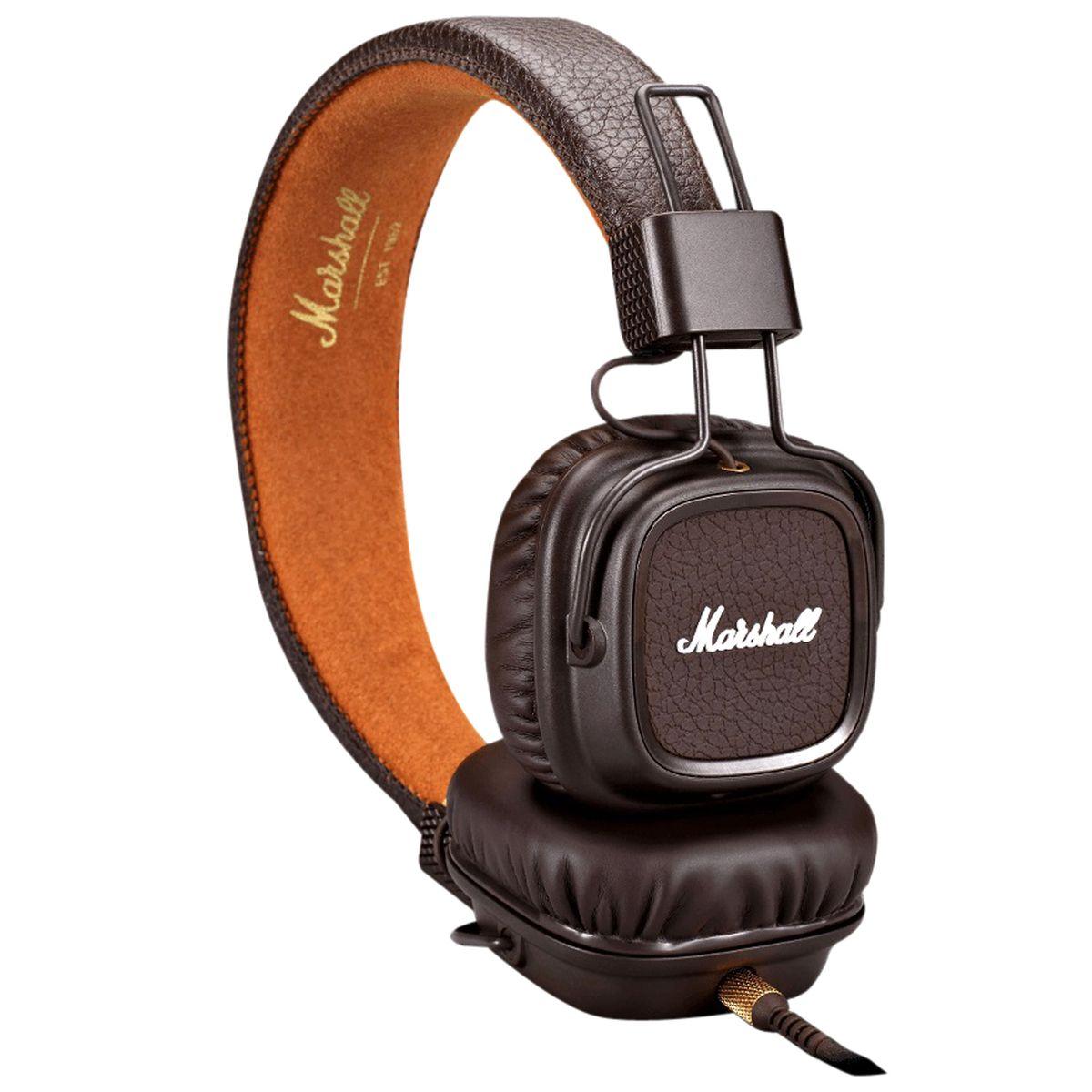 Casque audio filaire - Marron - Major III