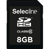 SELECLINE Carte SDHC - 8 Go - carte mémoire