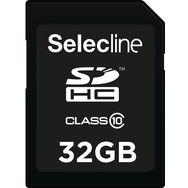SELECLINE Carte SDHC - 32 G0 - Carte mémoire