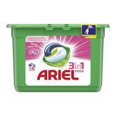 Ariel pods fresh pink lessive écodose x14 -0,378l
