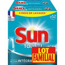 Sun Tablettes lave-vaisselle tout-en-1 lot familial x104