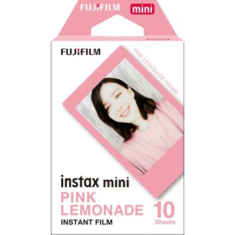 FUJIFILM Papier photo instantané - Instax mini - Cadre rose