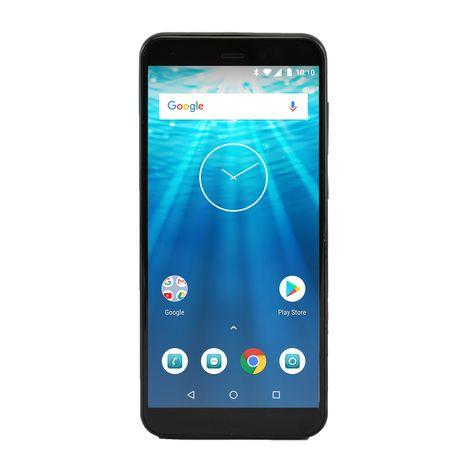 QILIVE Smartphone - Q10S57IN4G - 16 Go - 5.7 pouces - Noir - Double SIM - 4G
