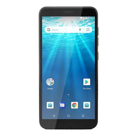 QILIVE Smartphone - Q10S53IN4G - 16Go - 5.3 pouces - Noir - Double SIM - 4G