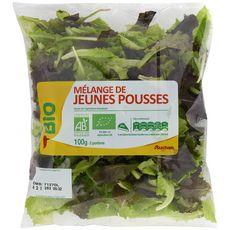 Auchan bio Mélange de jeunes pousses 100g