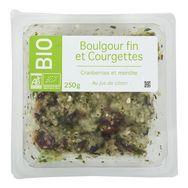 boulgour fin courgettes bio 250g