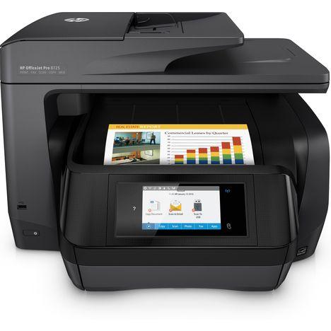HP Imprimante Multifonction - Jet d'encre thermique - OFFICEJET PRO 8725