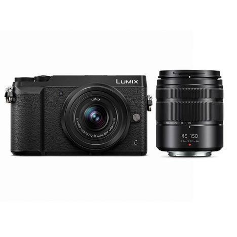 PANASONIC Appareil Photo Hybride - LUMIX GX80 - Noir - Objectif 14-42 mm