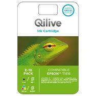 QILIVE Pack cartouche d'encre E-18 compatible EPSON T1816