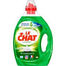 LE CHAT Lessive liquide au bicarbonate 40 lavages 2l
