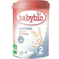 Babybio caprea 2 boite 900g dès 6mois