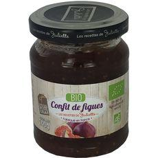 LES RECETTES DE JULIETTE Confit de figue bio 140g