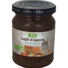 LES RECETTES DE JULIETTE Confit d'oignon bio 140g