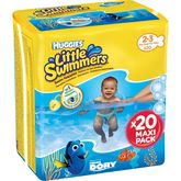 Huggies little swimmers maxi pack taille 2/3 x20