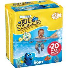 Huggies Little swimmers couches de bain 2-3 ans (3-8kg) x20