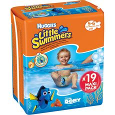 Huggies Little swimmers couches de bain 5-6 ans (12-18kg) x19