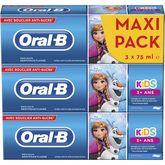 Oral B dentifrice reine des neiges 3x75ml