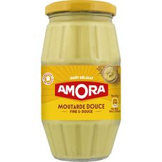 Amora moutarde douce bocal 435 g