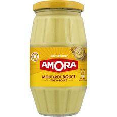 AMORA Amora Moutarde fine et douce fabriqué en France 435g 435g