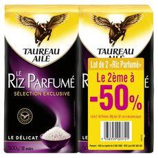 TAUREAU AILE Taureau Ailé riz parfumé 2x500g dont 50% sur le 2ème