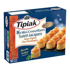 TIPIAK Tipiak mini croustillant st jacques x16 -200g
