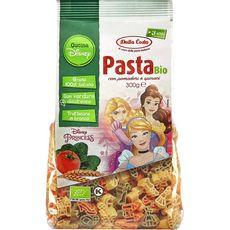 DALLA COSTA Pâtes bio Disney Princesses aux tomates et épinards 300g