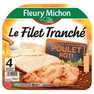 Fleury Michon Fleury Michon Filet de poulet rôti 4 tranches 150g