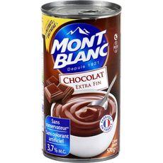 MONT BLANC Mont Blanc crème dessert chocolat 570g familial