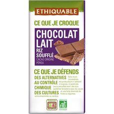Ethiquable riz soufflé au chocolat bio 100g