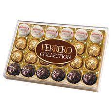 FERRERO Ferrero Collection Confiserie au chocolat 3 recettes x24 269g 24 pièces 269g