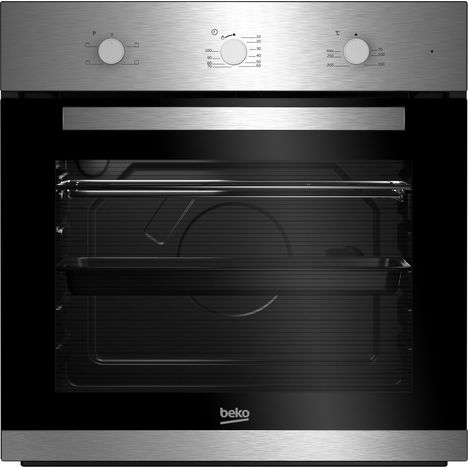 BEKO Four encastrable BIC22100X - 71 L, Convection naturelle, Nettoyage manuel