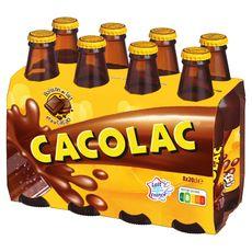 CACOLAC Cacolac Boisson au lait et au cacao bouteilles 8x20cl 8x20cl