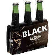 Licorne black bière 6° -3x33cl