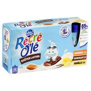 Mont Blanc récré olé chocolat vanille caramel 12x85g