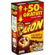 NESTLE Nestlé lion 575g +50% offert