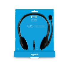 LOGITECH Casque filaire H111 STEREO HEADSET
