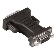 QILIVE Adaptateur DVI Mâle / VGA Femelle - Noir