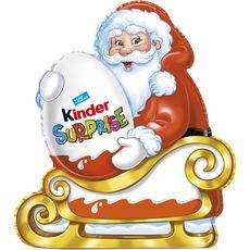 Kinder Surprise Père Noël traîneau en chocolat 75g