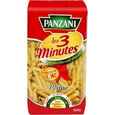 PANZANI Penne cuisson rapide 3min 500g