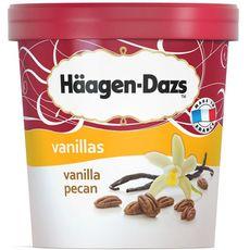 Häagen Dazs vanille pecan 430g