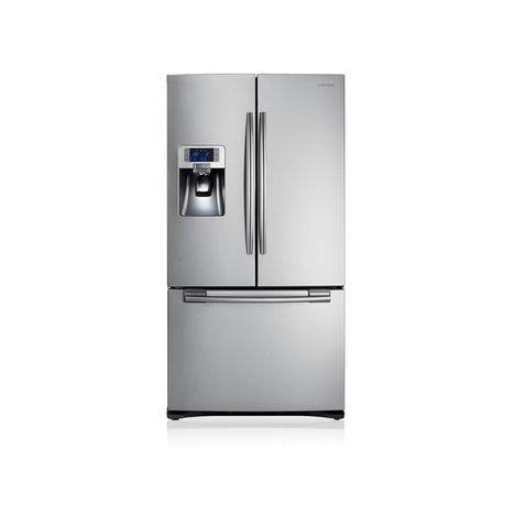 SAMSUNG Réfrigérateur Américain RFG23UERS, 520 L, Froid Ventilé