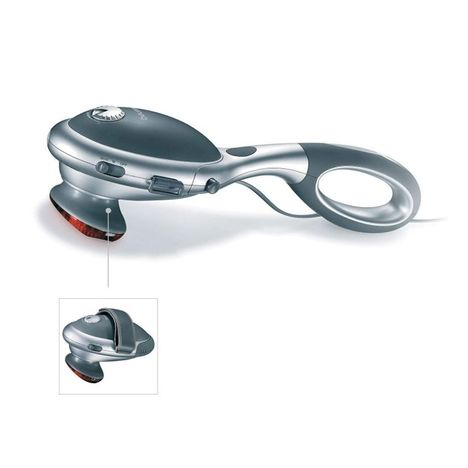 BEURER Bras de massage par tapotements à chaleur infrarouge MG 70, Fonctionne sur secteur