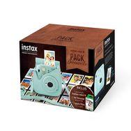 FUJIFILM Appareil Photo Instantané - Pack Découverte INSTAX Mini 9 - Bleu Givré + Housse + 10 Films