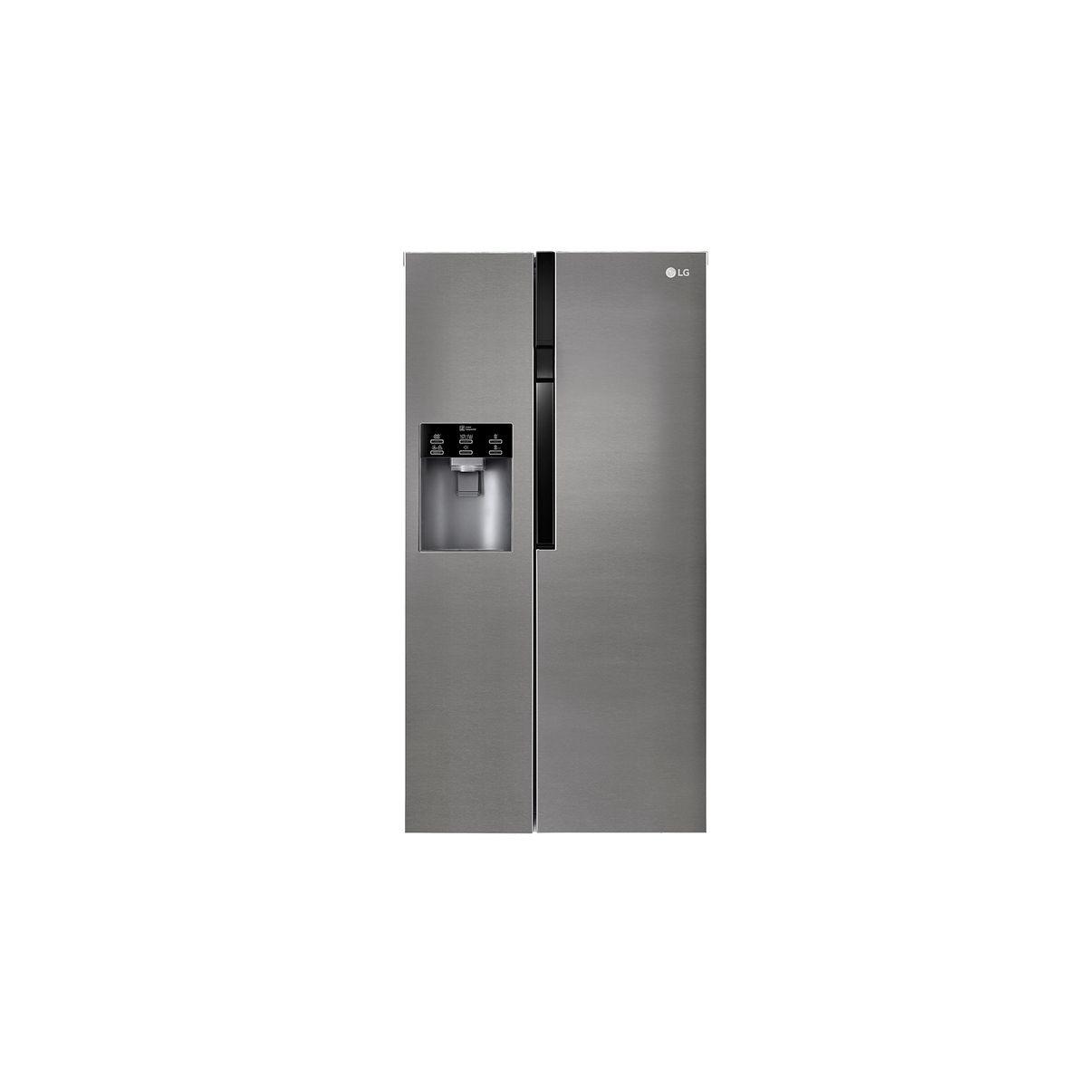 Réfrigérateur américain GSL360ICEV, 591L, Froid Ventilé Total No Frost
