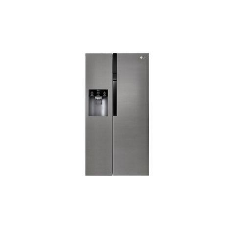 LG Réfrigérateur américain GSL360ICEV, 591L, Froid Ventilé Total No Frost