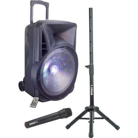BOOST Enceinte sono portable - Bluetooth - Lumineuse - USB - Mobile 12